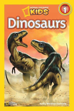 National Geographic Kids Readers: Dinosaurs (Level 1) Animal Book