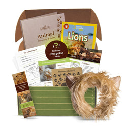 edZOOcation Animal Education Subscription Box by Wildlife Tree (Single Box or Monthly)