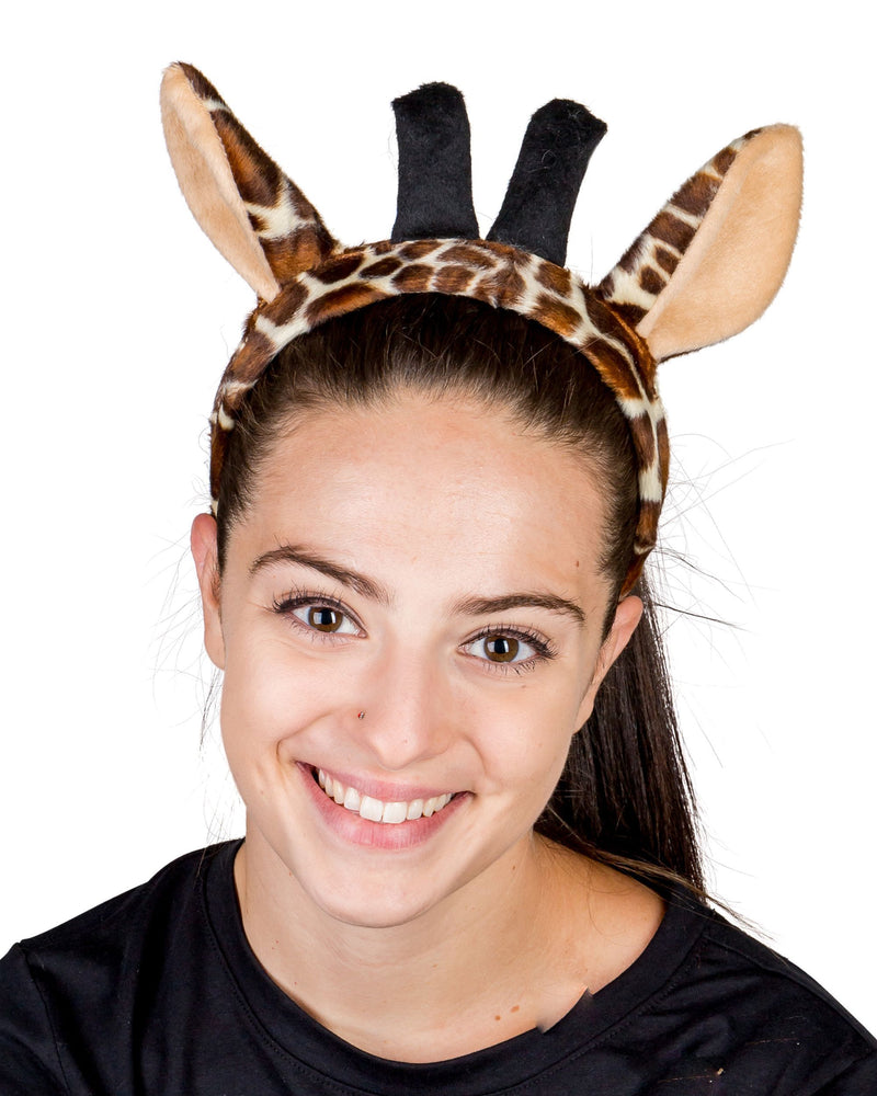 Giraffe Ears for Giraffe Costume Cosplay Safari Animal Pretend Play