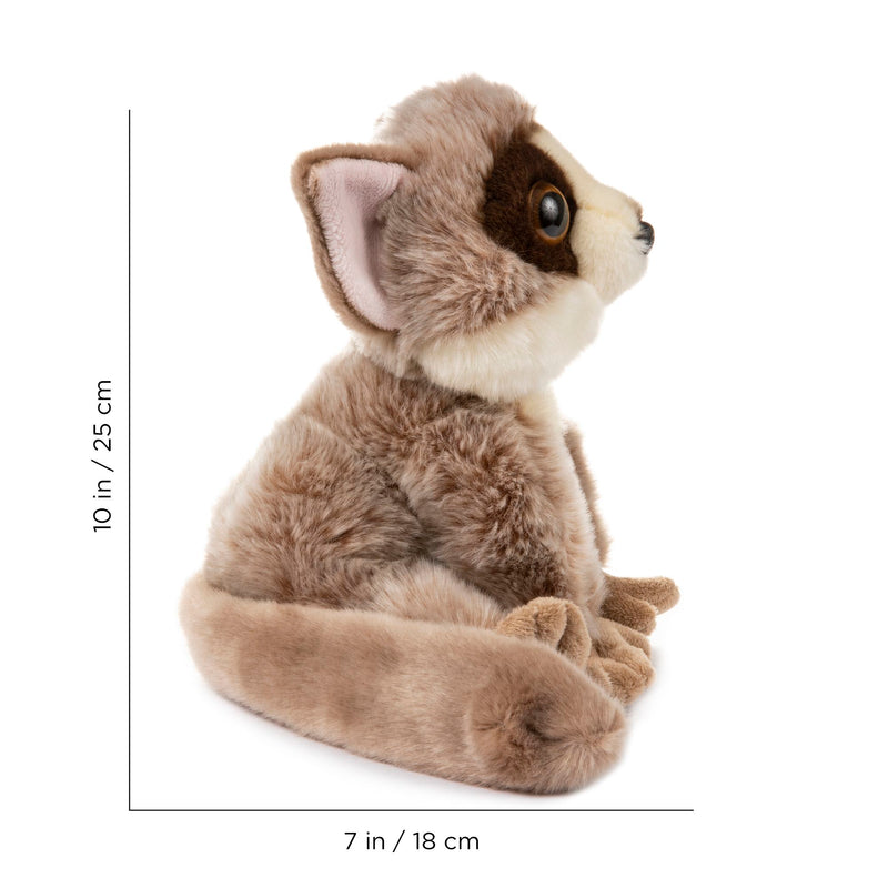 12 Inch Stuffed Bushbaby Plush Floppy Animal Kingdom Collection
