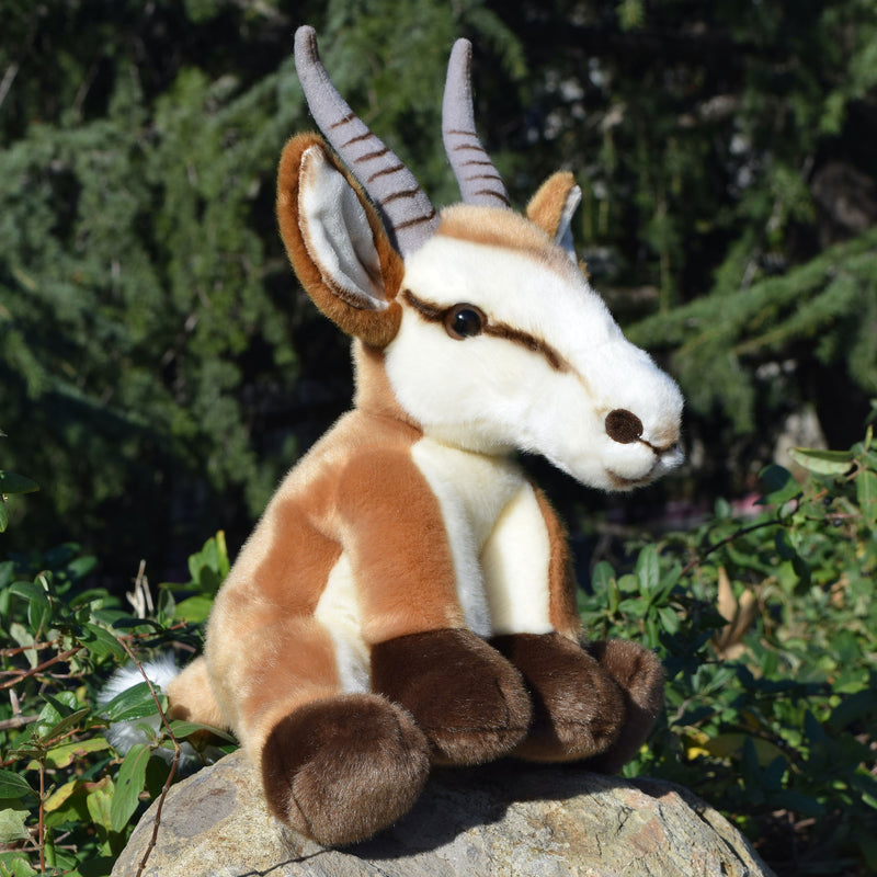 12 Inch Stuffed Springbok Plush Floppy Animal Kingdom Collection