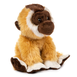 12 Inch Stuffed Gibbon Plush Floppy Animal Kingdom Collection