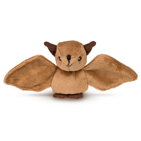 "Single Bat Mini 4"" Small Stuffed Animal, Zoo Animal Toy, Forest Party Favor for Kids"