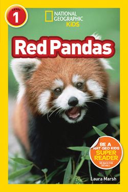National Geographic Kids Readers: Red Pandas (Level 1) Animal Book