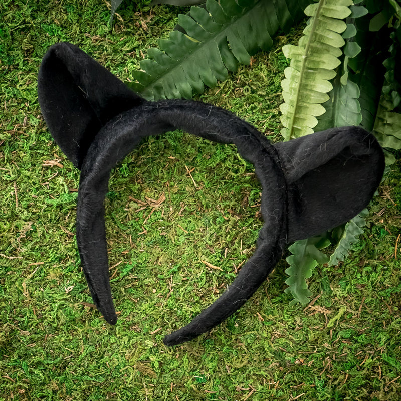 Black Panther Ears for Black Panther Costume Cosplay Pretend Play