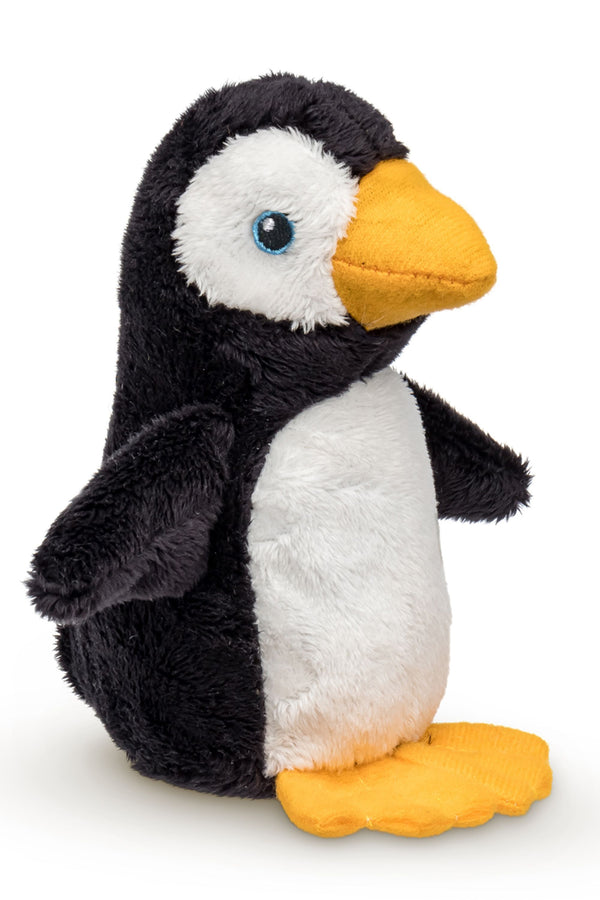 Single Penguin Mini 4 Inch Small Stuffed Animal, Zoo Animal Toy, Arctic Party Favor for Kids