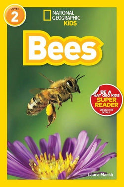 National Geographic Kids Readers: Bees (Level 2) Animal Book