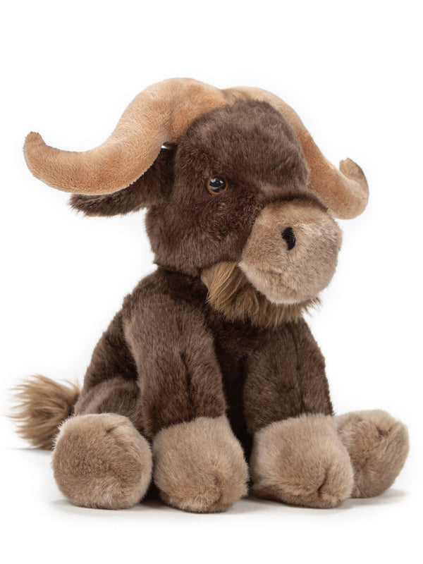 10 Inch Water Buffalo Stuffed Animal Floppy Plush