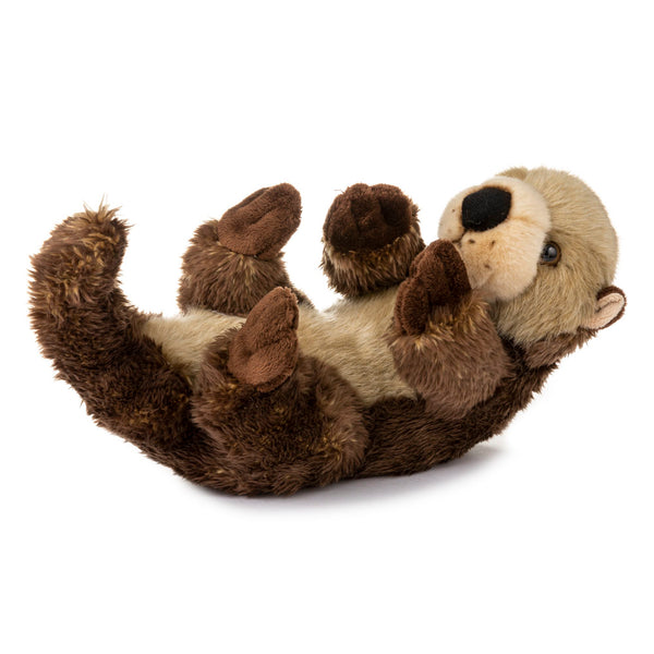 12 Inch Sea Otter Stuffed Animal Floppy Plush Kingdom Collection