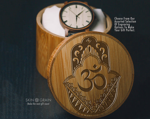 Hand Of Hamsa | Spiritual Gift Box | Upgraded Wood Box | Keepsake Box |