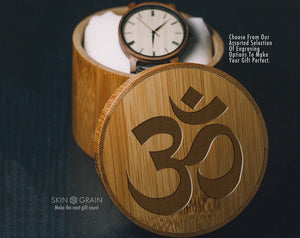 OHM Gift Box | Spiritual Gift Box | Upgraded Wood Box | Keepsake Box |