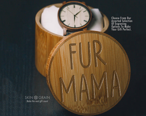Fur Mama Gift Box | Upgraded Wood Box | Keepsake Box |