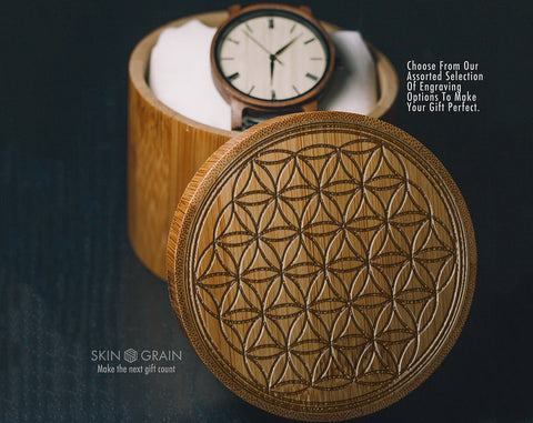 Flower Of Life | Spiritual Gift Box | Upgraded Wood Box | Keepsake Box |