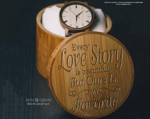 Love Story | Lovers Gift Box | Upgraded Wood Box | Keepsake Box |