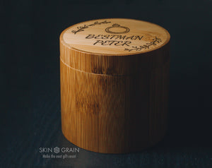 Bestman Invitation Gift Box Upgraded Wood Box Tasteful Box For You