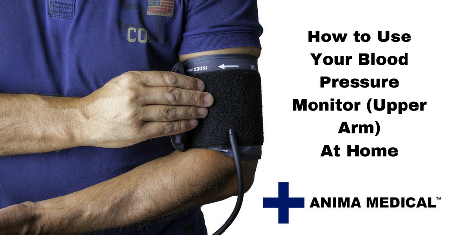 How to use your blood pressure monitor (upper arm) at home