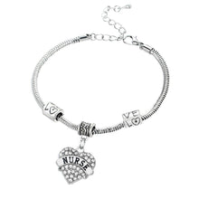Heart Charm Bracelet for Nurses!