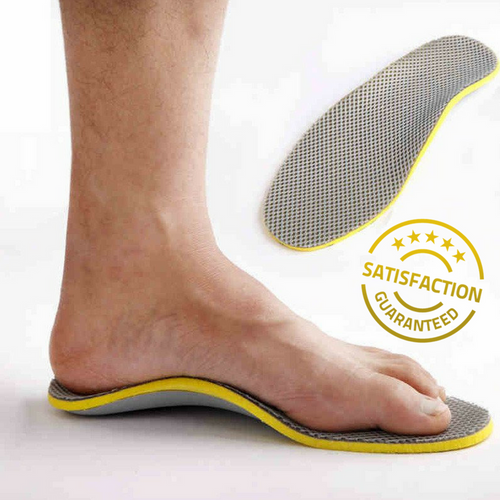 Comfortable Orthotic Insoles with Arch Support for Women or Men