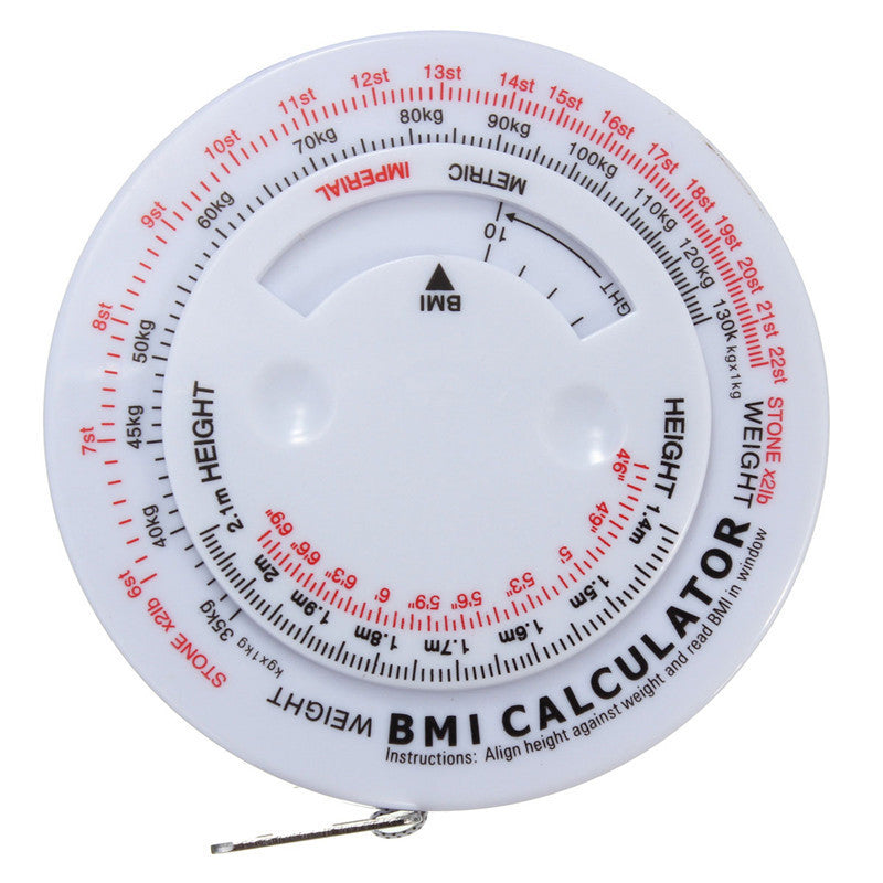 FREE SHIPPING! Retractable Tape Measure for Calculating BMI and Weight Loss