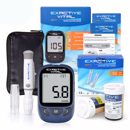 FREE SHIPPING! Diabetic Blood Sugar Meter + 50 Strips & 50 Needles
