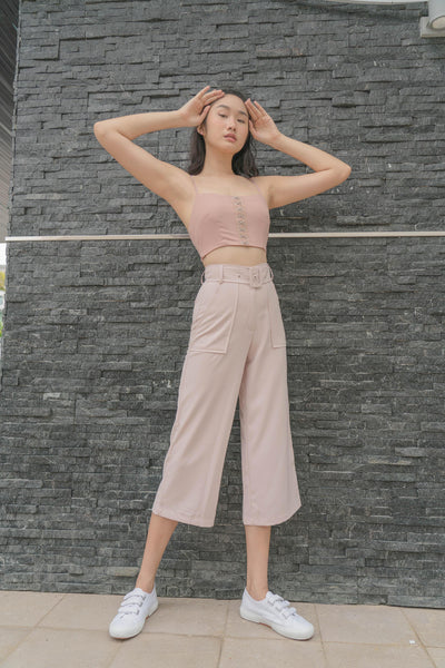 *Back Order* Parallel Pants in Rosewater Pink