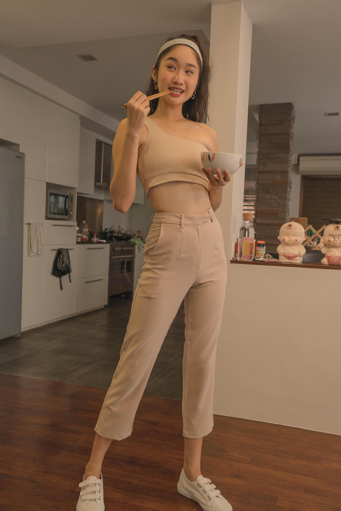 *Back Order* Back To Business Pants in Rice Beige