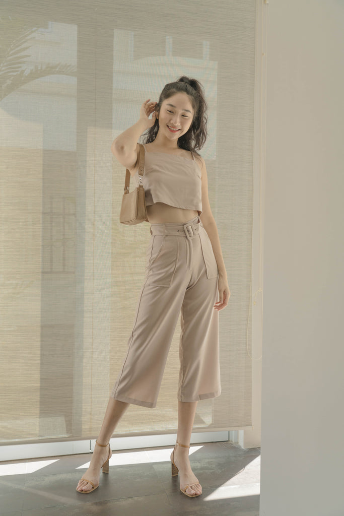 *Back Order* Parallel Pants in Wheat Beige