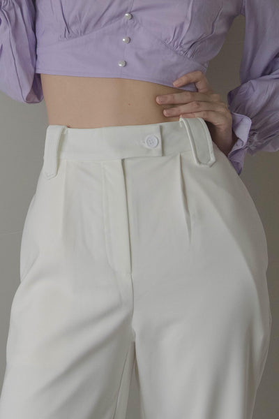 *Back Order* Vocational Pants in White