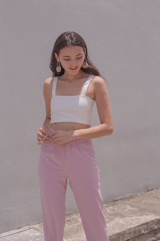 Straightforward Pants in Blush Pink