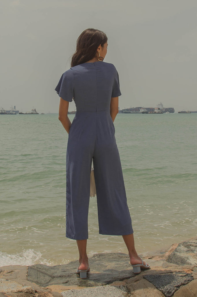 Jumpstart Jumpsuit in Airforce Blue
