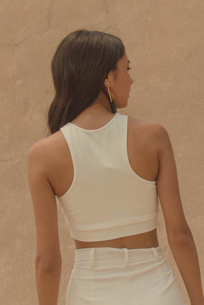 *Back Order* Fundamental Top in White