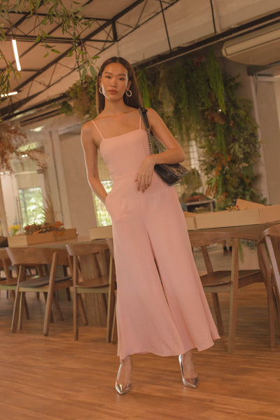 YHF500 Jumpsuit in Salmon Pink
