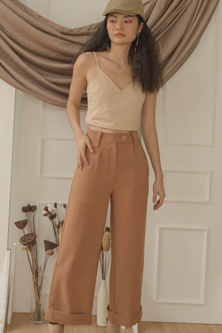Free Spirit Pants in Sandstone Orange