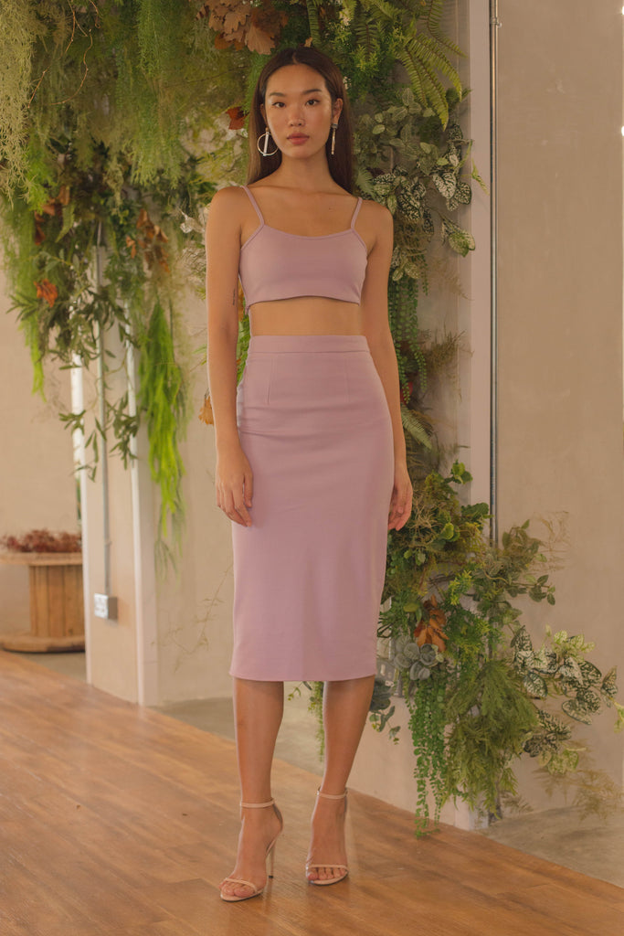 Uplift Skirt in Lilac