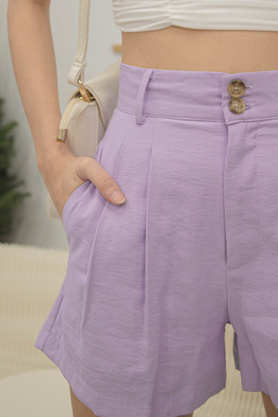 Crossbreed Shorts in Light Lavender