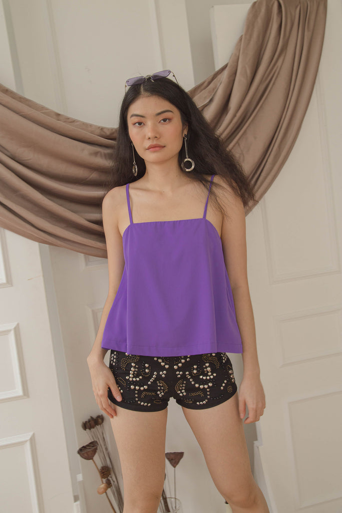 Let Loose Cami in Iris Purple