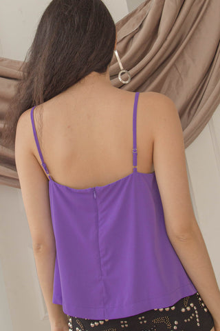 Back To Reality Dress in Plum
