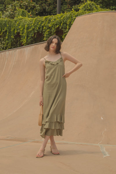 Oasis Maxi in Russian Green