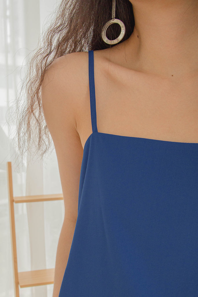 Let Loose Cami in Electric Blue