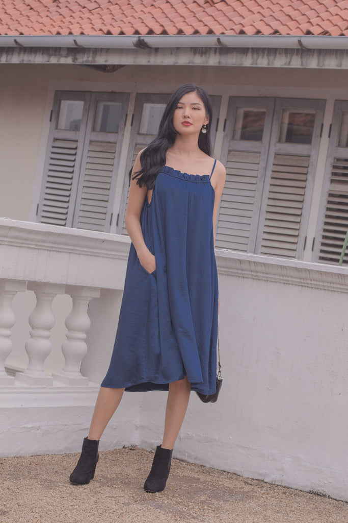 Sleeping Beauty Midi in Indigo