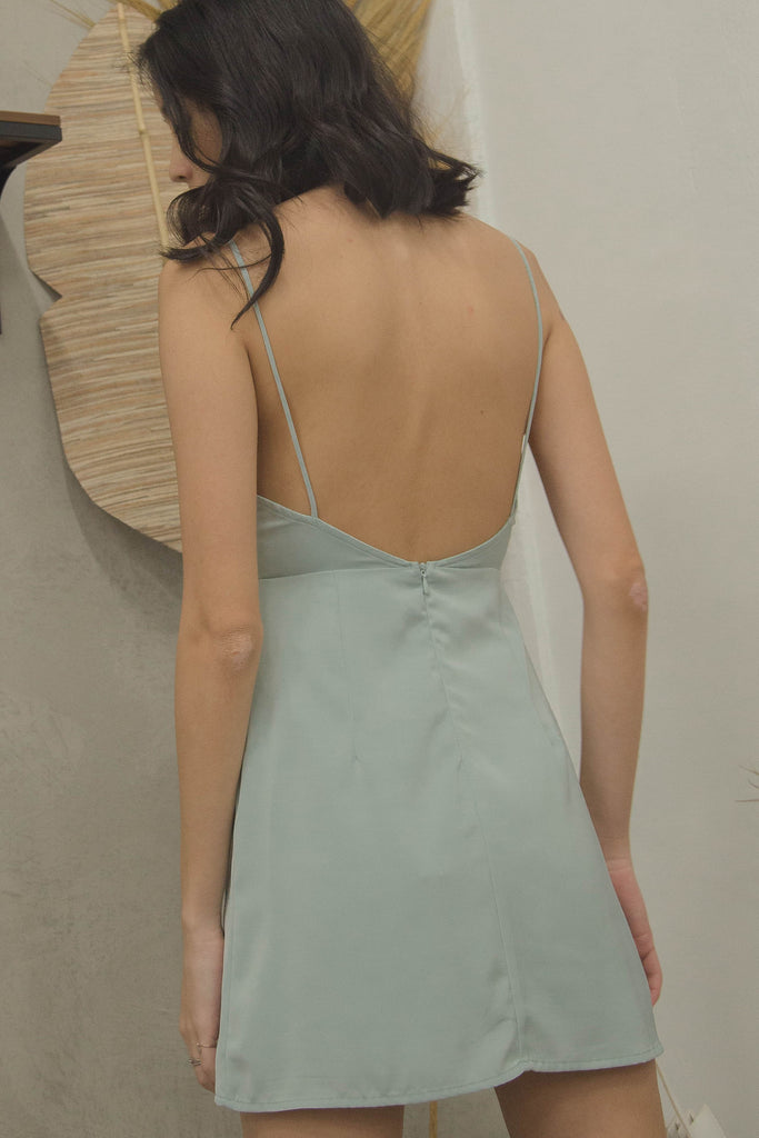 Phase 3 Dress in Faded Mint