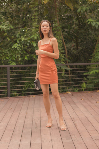 Duo Huat Dress in Yellow Hearts