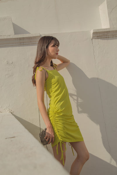 As You Wish Dress in Lime