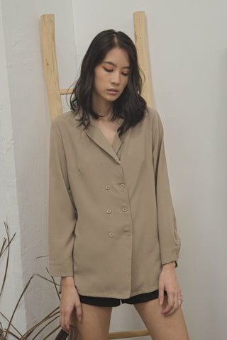 Risky Business Shirt in Olive