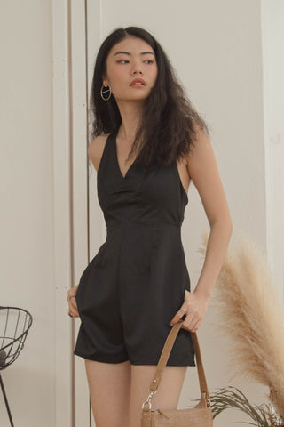 Duo Huat Dress in Black
