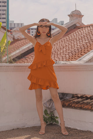 Aphrodite Maxi in Rust
