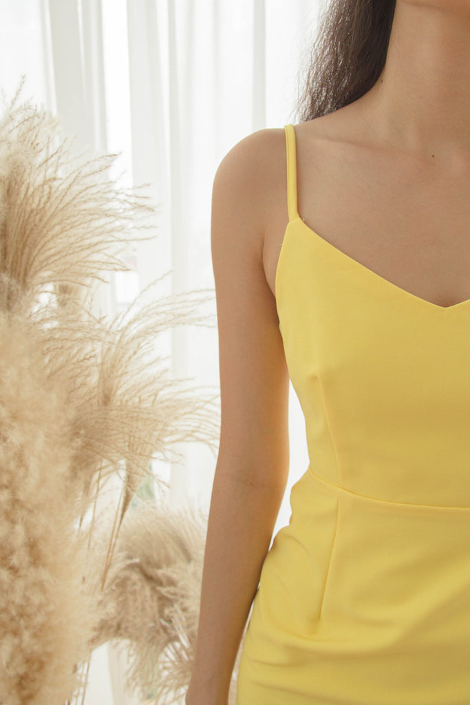 Sunkiss Dress in Corn Yellow