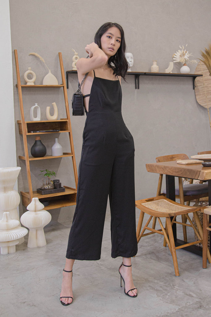 New Year's Jumpsuit in Black