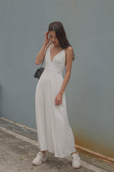 Honeymoon Maxi in White