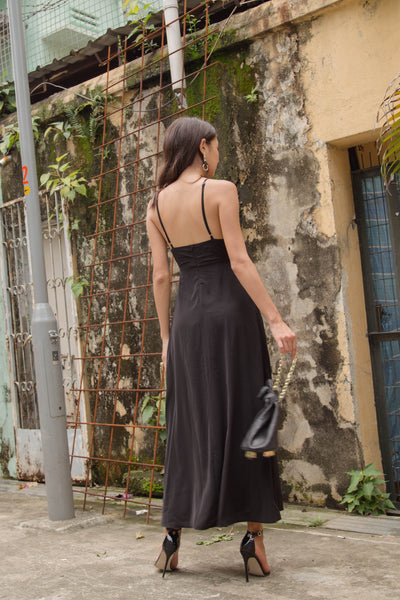 Honeymoon Maxi in Black